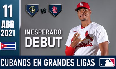 Resumen Cubanos en Grandes Ligas - 11 Abr 2021