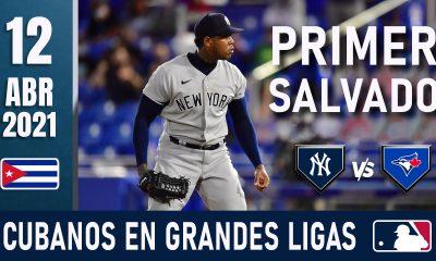 Resumen Cubanos en Grandes Ligas - 12 Abr 2021