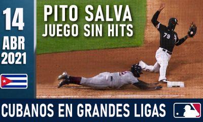 Resumen Cubanos en Grandes Ligas - 14 Abr 2021