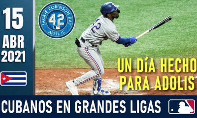 Resumen Cubanos en Grandes Ligas - 15 Abr 2021