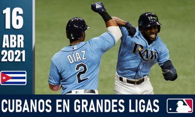 Resumen Cubanos en Grandes Ligas - 16 Abr 2021