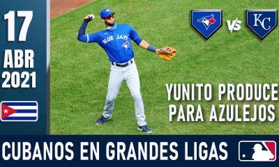 Resumen Cubanos en Grandes Ligas - 17 Abr 2021