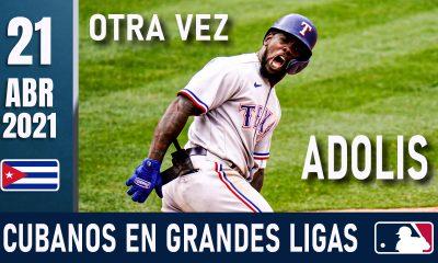 Resumen Cubanos en Grandes Ligas - 21 Abr 2021