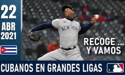 Resumen Cubanos en Grandes Ligas - 22 Abr 2021
