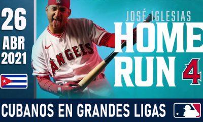 Resumen Cubanos en Grandes Ligas - 26 Abr 2021