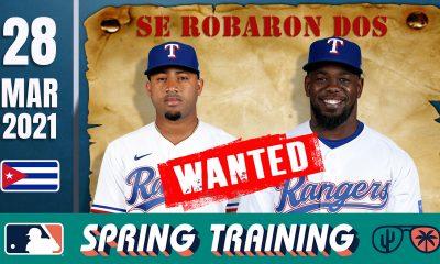 Resumen Cubanos en Grandes Ligas - 28 Mar 2021
