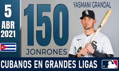 Resumen Cubanos en Grandes Ligas - 5 Abr 2021