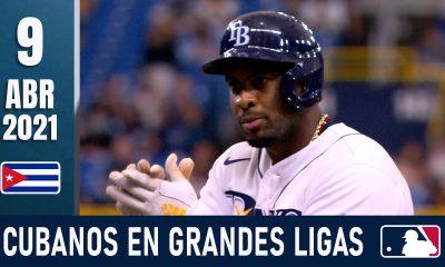 Resumen Cubanos en Grandes Ligas - 9 Abr 2021