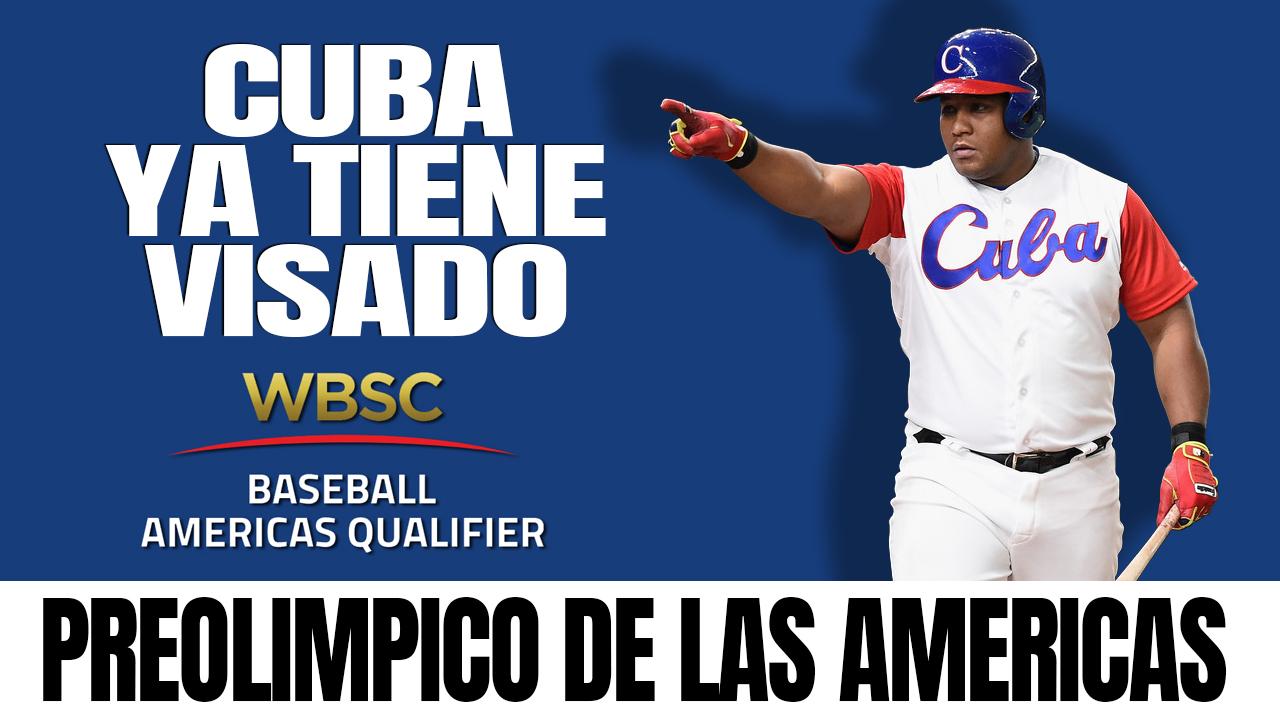 Equipo Cuba de béisbol al Preolímpico de las Américas