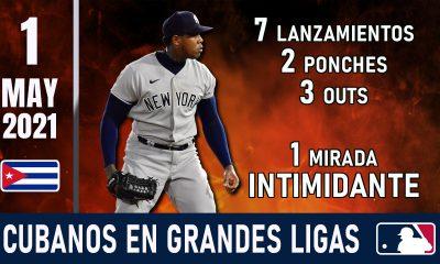 Resumen Cubanos en Grandes Ligas - 1 May 2021