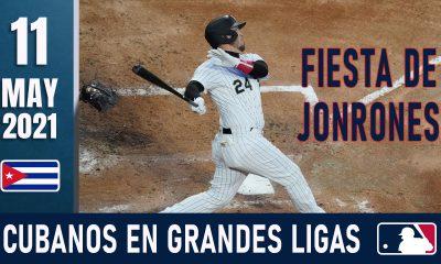 Resumen Cubanos en Grandes Ligas - 11 May 2021