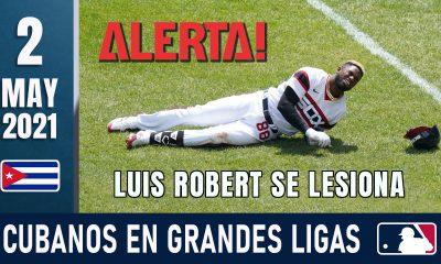 Resumen Cubanos en Grandes Ligas - 2 May 2021