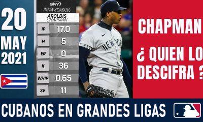 Resumen Cubanos en Grandes Ligas - 20 May 2021