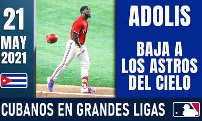 Resumen Cubanos en Grandes Ligas - 21 May 2021