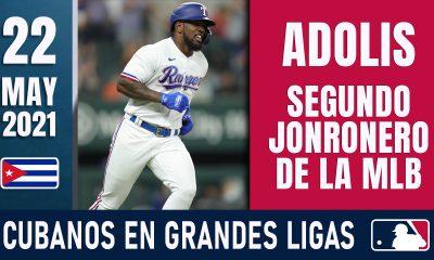 Resumen Cubanos en Grandes Ligas - 22 May 2021