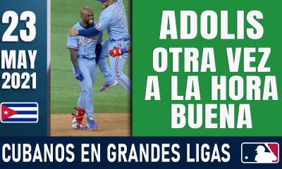 Resumen Cubanos en Grandes Ligas - 23 May 2021