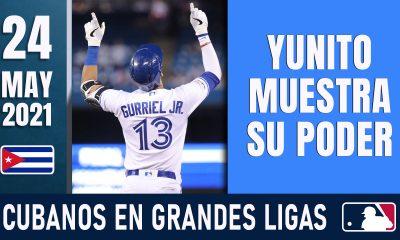 Resumen Cubanos en Grandes Ligas - 24 May 2021