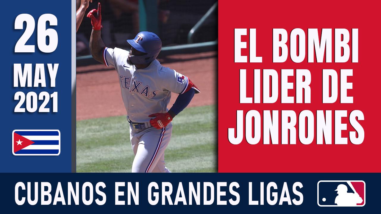 Resumen Cubanos en Grandes Ligas - 26 May 2021