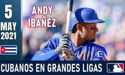 Resumen Cubanos en Grandes Ligas - 5 May 2021