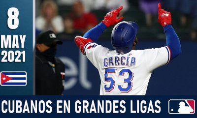 Resumen Cubanos en Grandes Ligas - 8 May 2021