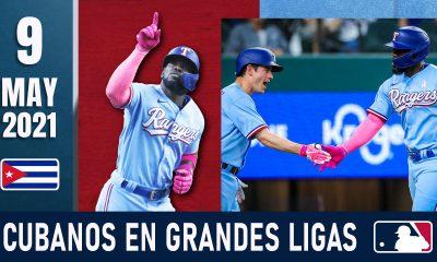 Resumen Cubanos en Grandes Ligas - 9 May 2021