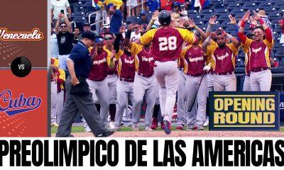 Venezuela vs Cuba - Preolimpico de las Americas de Beisbol 2021