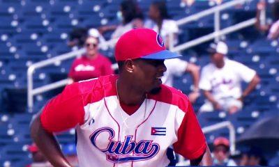 Andy Rodriguez - Cuba Preolimpico de las Americas de Beisbol 2021