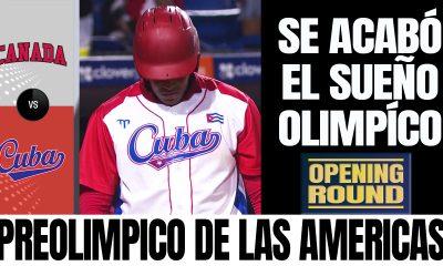 Canada vs Cuba - Preolimpico de las Americas de Beisbol 2021