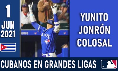 Resumen Cubanos en Grandes Ligas - 1 Jun 2021