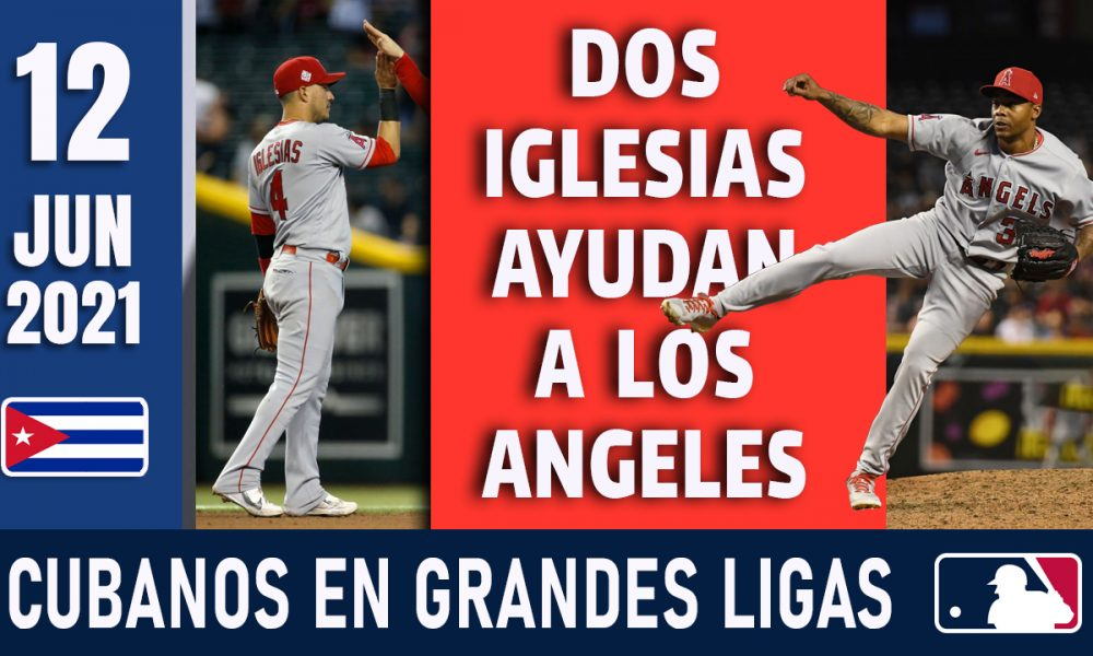 Resumen Cubanos en Grandes Ligas - 12 Jun 2021
