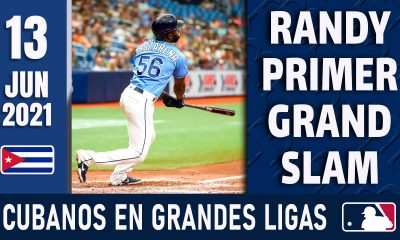 Resumen Cubanos en Grandes Ligas - 13 Jun 2021