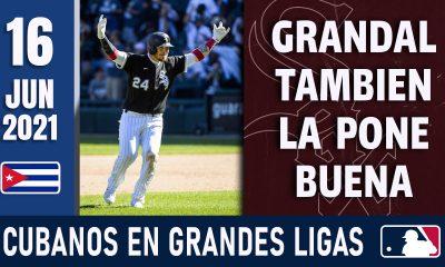 Resumen Cubanos en Grandes Ligas - 16 Jun 2021