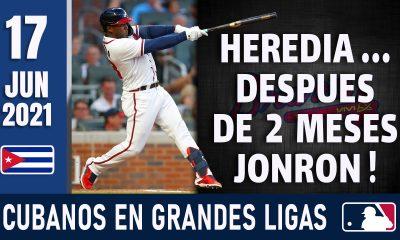 Resumen Cubanos en Grandes Ligas - 17 Jun 2021