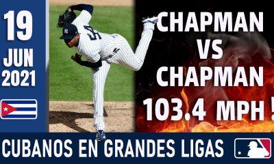 Resumen Cubanos en Grandes Ligas - 19 Jun 2021