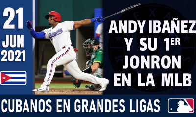 Resumen Cubanos en Grandes Ligas - 21 Jun 2021
