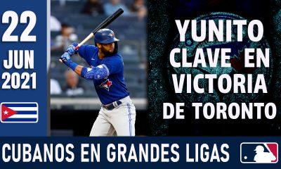Resumen Cubanos en Grandes Ligas - 22 Jun 2021