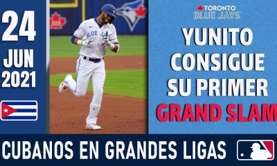 Resumen Cubanos en Grandes Ligas - 24 Jun 2021