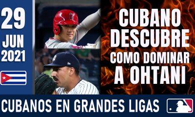 Resumen Cubanos en Grandes Ligas - 29 Jun 2021