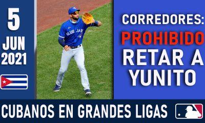 Resumen Cubanos en Grandes Ligas - 5 Jun 2021