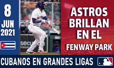 Resumen Cubanos en Grandes Ligas - 8 Jun 2021
