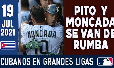 Resumen Cubanos en Grandes Ligas - 19 Jul 2021