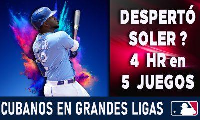 Resumen Cubanos en Grandes Ligas - 25 Jul 2021