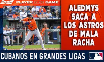 Resumen Cubanos en Grandes Ligas - 19 Ago 2021