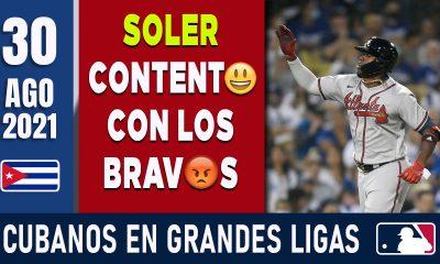 Resumen Cubanos en Grandes Ligas - 30 Ago 2021