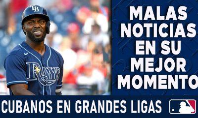 Resumen Cubanos en Grandes Ligas - 8 Ago 2021
