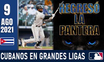 Resumen Cubanos en Grandes Ligas - 9 Ago 2021