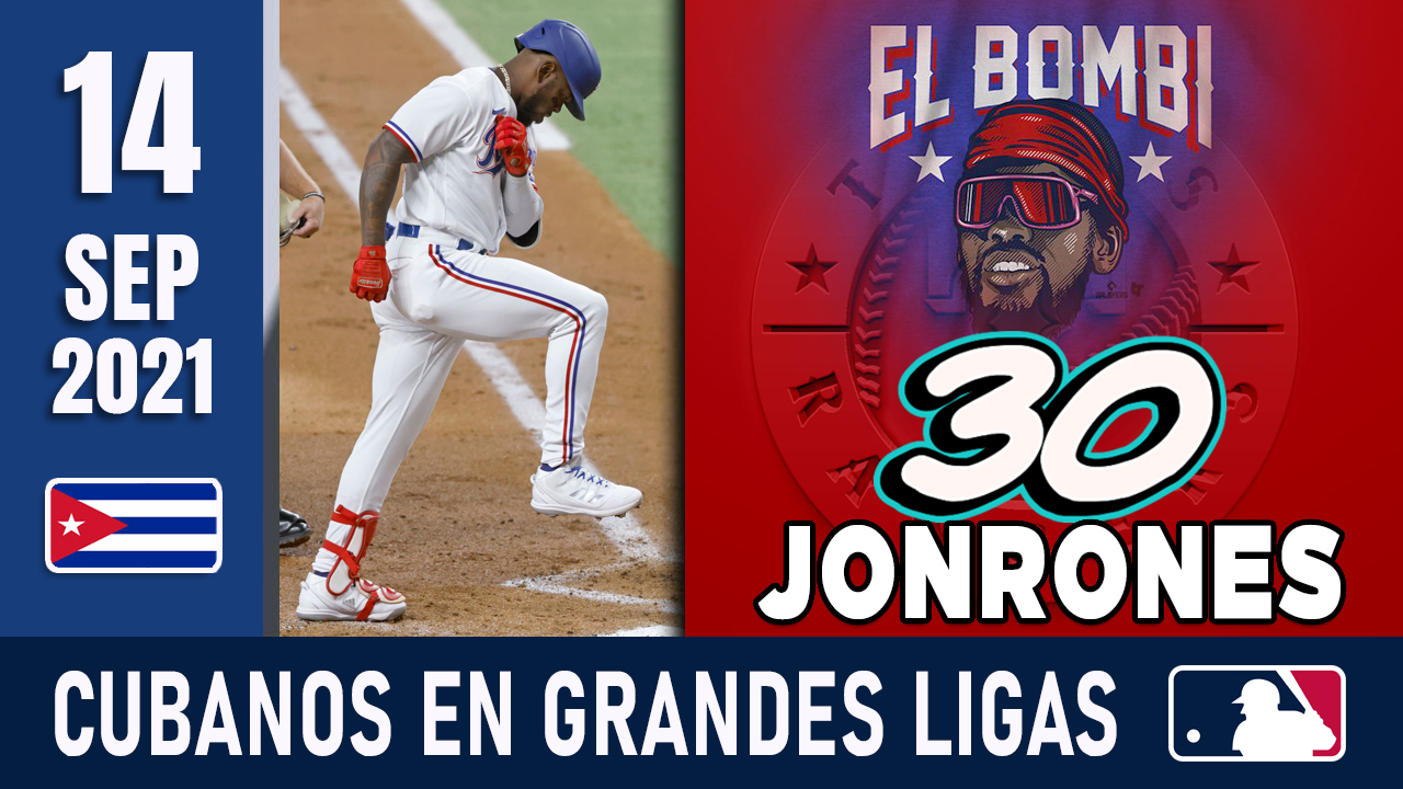 Resumen Cubanos en Grandes Ligas - 14 Sep 2021