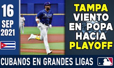 Resumen Cubanos en Grandes Ligas - 16 Sep 2021