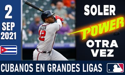 Resumen Cubanos en Grandes Ligas - 2 Sep 2021