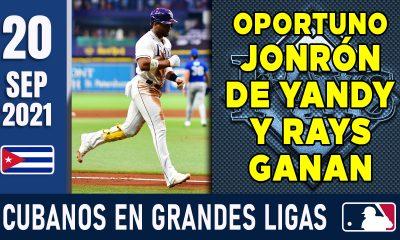 Resumen Cubanos en Grandes Ligas - 20 Sep 2021